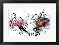 Framed Color Explosion A7