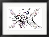 Framed Flower Design K5