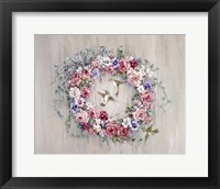 Framed Hummingbird Wreath