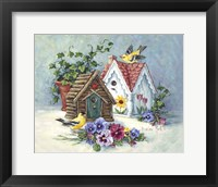 Framed Goldfinch Birdhouses