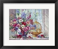 Framed Victorian Blossoms