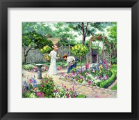 Framed Botanical Enchantment