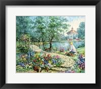 Framed Garden Allure