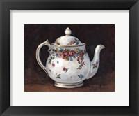 Framed Mixed Blossom Teapot