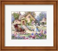 Framed Cottage Afternoon