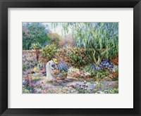 Framed Her Garden