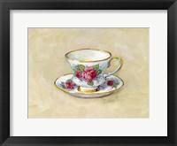 Framed Rose Teacup