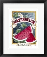 Framed Sugar Sweet Watermelon