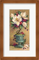Framed Magnolia Cluster Topiary 2