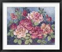 Framed Victorian Roses
