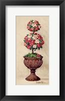 Framed Rose Topiary I