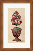 Framed Rose Topiary II
