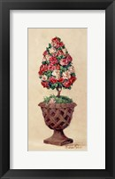 Framed Rose Topiary II