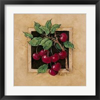 Framed Cherry Square