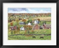 Framed High Pastures