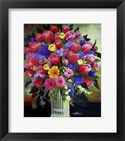 Framed Springtime Flowers 1