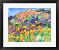 Framed Poppy Hills