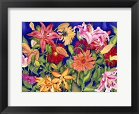 Framed Lilies and Gerbers