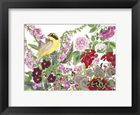 Framed Warbler With Frog