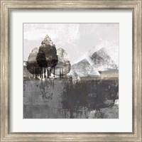 Framed Textured Landscape
