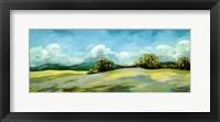 Framed Lush Green Landscape