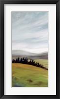 Framed Rolling Hills Landscape
