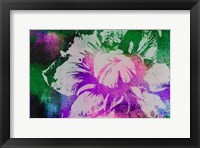 Framed Color Pop Flower