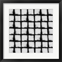 Framed Shibori Black I