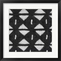 Framed Shibori Black III