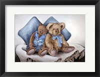 Framed Blue Bears