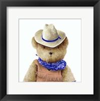 Framed Teddy Bear V