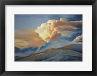 Framed Mountain Sunrise