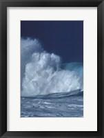 Framed Breaking Waves I