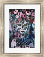 Framed Rose Goddess