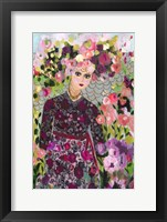 Framed Garden Goddess