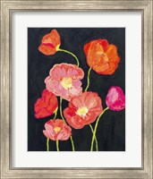 Framed Sunshine Poppies