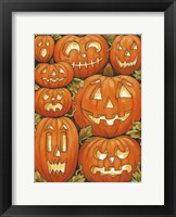 Framed Jack O Lanterns