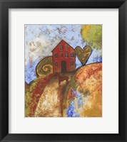 Framed Horse Home and Heart