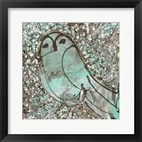 Framed Owl III