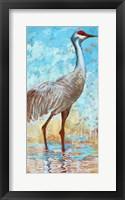 Framed Sandhill Cranes II