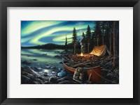 Framed Campfire Memories