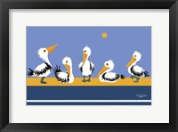 Framed Pelican Parade