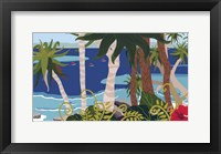 Framed Tropical Bay 2