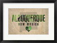 Framed Albuquerque