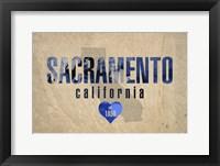 Framed Sacramento