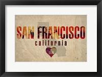 Framed San Fran