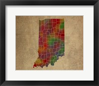 Framed IN Colorful Counties