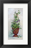 Framed Ivy Topiary I