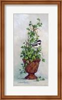 Framed Ivy Topiary I