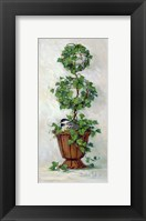 Framed Ivy Topiary II